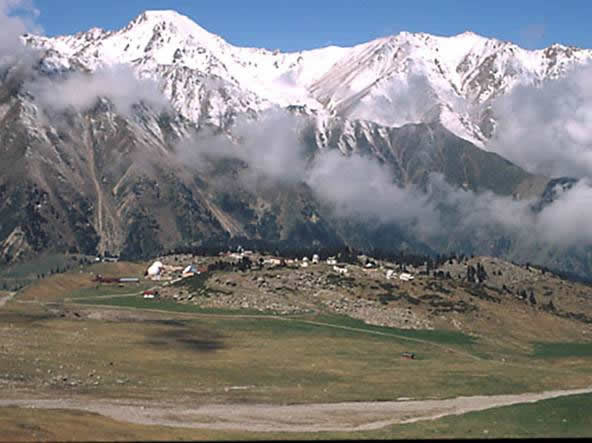 tien shan mountains. Tien Shan Mountains (3000